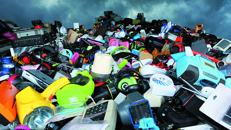 'Good repairability is vital in household items... landfill is what awaits' (Credit: Shutterstock)