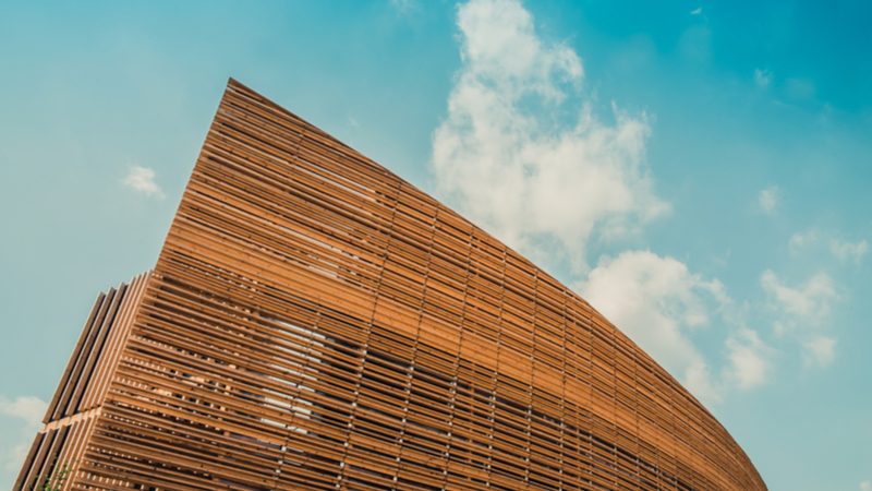 Using wood instead of conventional construction materials could slash emissions by effectively storing millions of tonnes of carbon (Credit: Shutterstock)