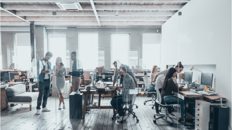 The link between office spaces and health and wellbeing is an inextricable one (Credit: Shutterstock)