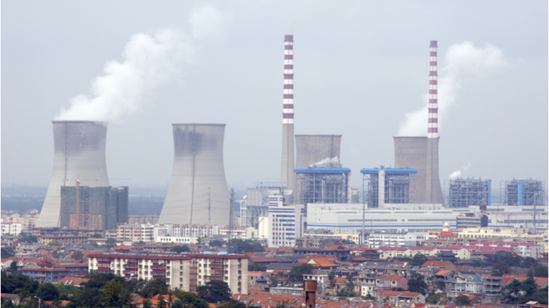 A nuclear power plant in Lianyungang, China (Credit: Shutterstock)