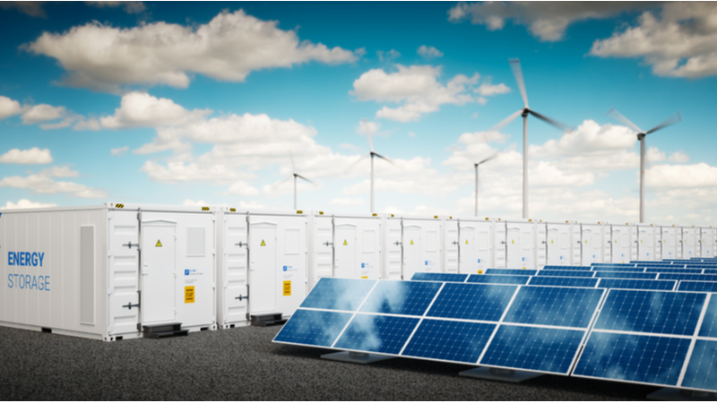 Stock image. The aluminium anode batteries could offer a low-cost lithium alternative for renewable energy storage (Credit: Shutterstock)