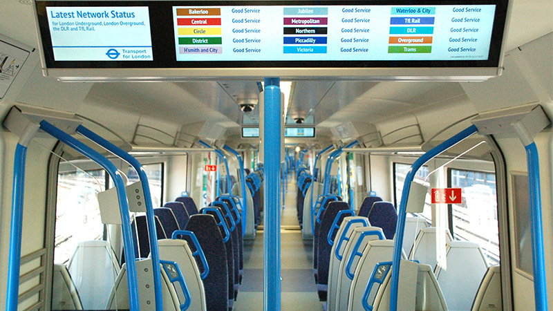 Thameslink will be the first line to benefit from digital railway technology (Credit: GTR)