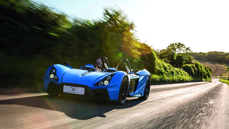 TFP created complex carbon fibre parts for the RP1 car