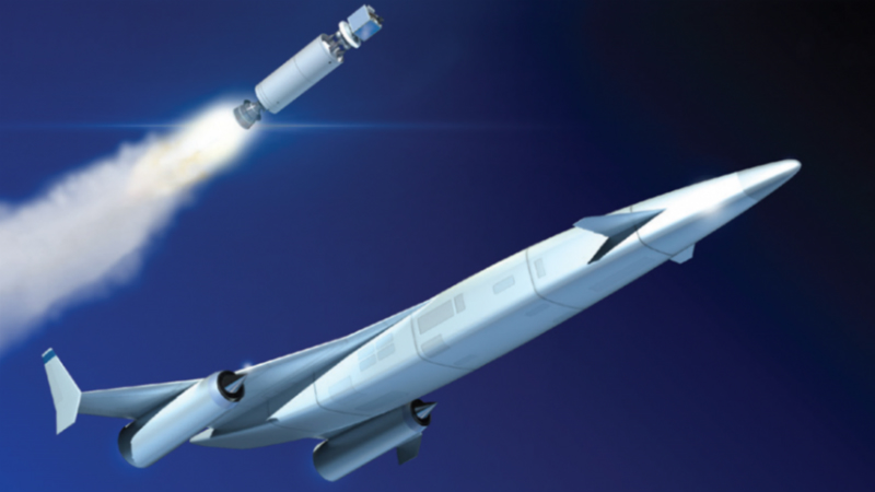 Reaction Engines is building technology that could create revolutionary spaceplanes (Credit: Reaction Engines)