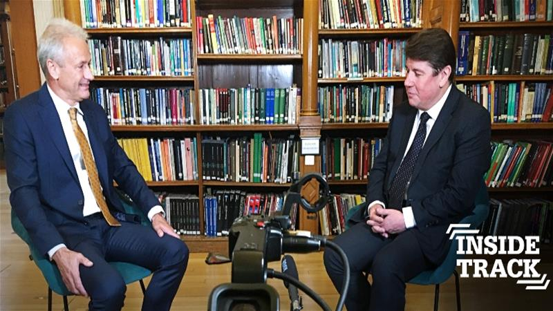 Terry Spall Interviews Stephen Metcalfe MP