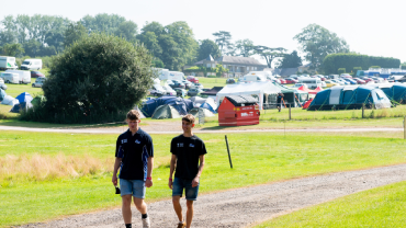 Campsite bookings for teams