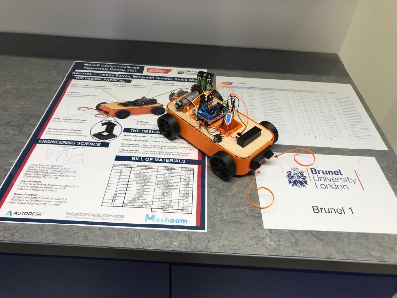 Brunel University London Team 1's repeatable vehicle