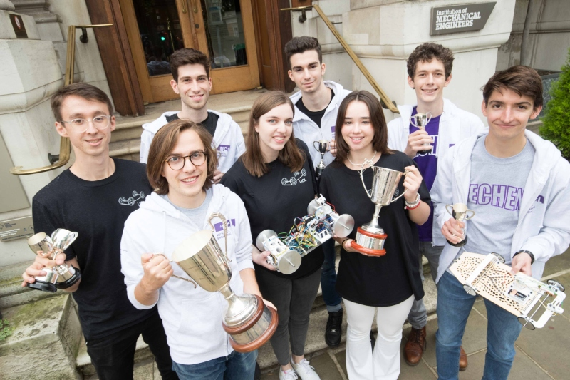 UCL 1st and 2nd year student teams