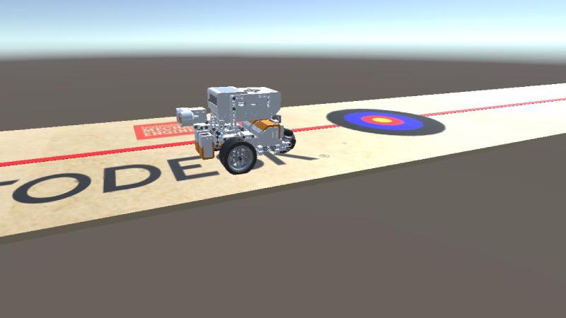 Repeatable vehicle simulation