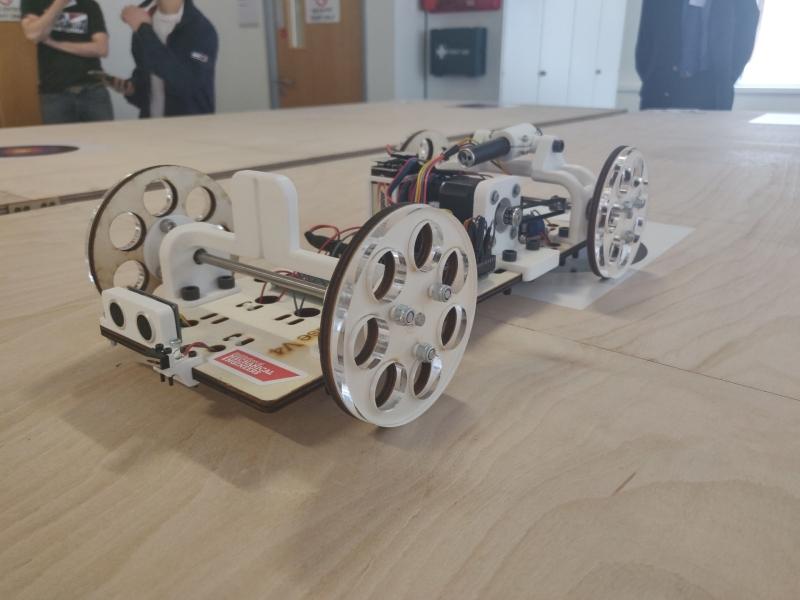 UCL Team B's repeatable vehicle