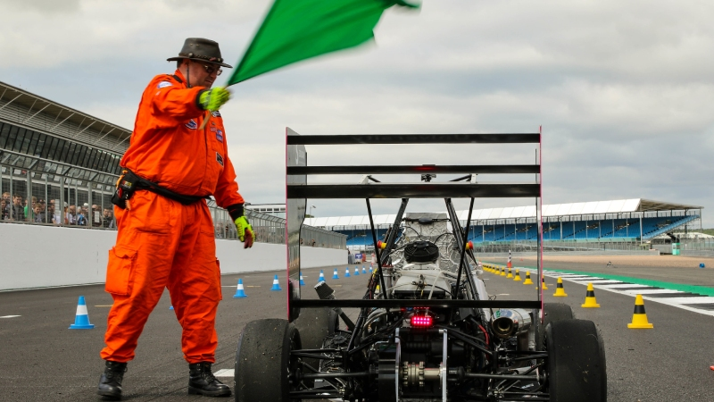 Green flag at the Acceleration event