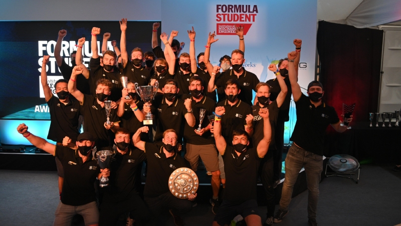 Sheffield crowned second British winners of formula student