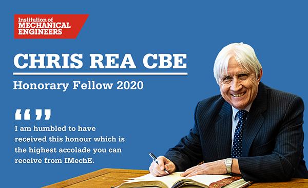 Chris Rea Honorary Fellow