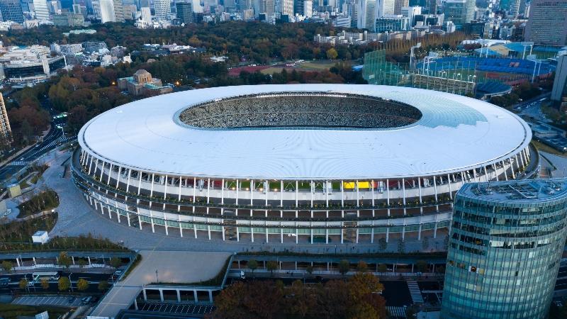 Tokyo Stadium courtesy of Shutterstock