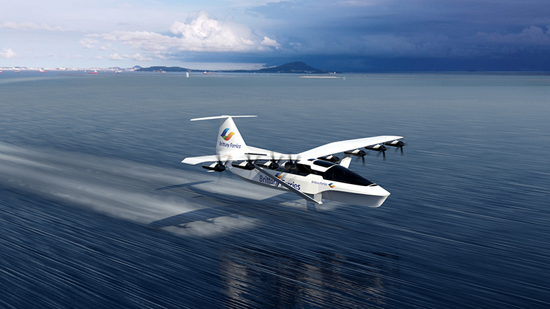 'Flying ferry' could slash Channel crossing times: 10 top stories of the weekImage