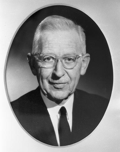 Professor John Lamb Murray Morrison 1970
