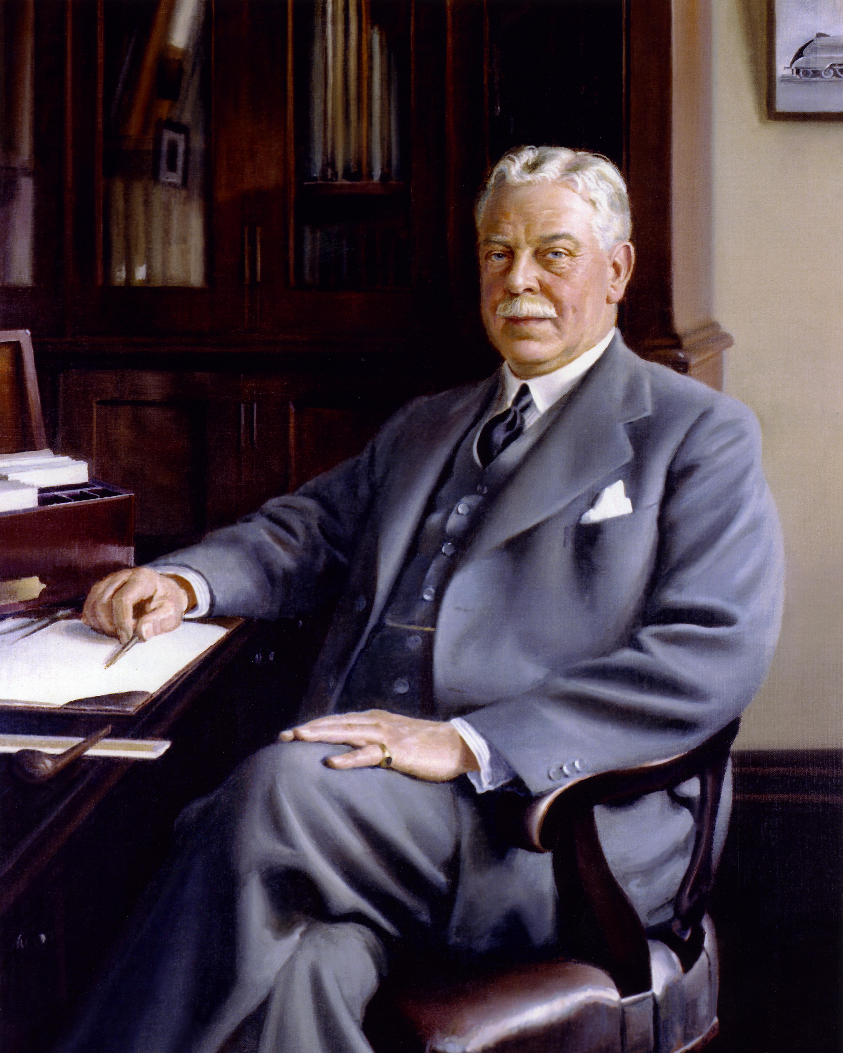 Sir Herbert Nigel Gresley CBE 1936